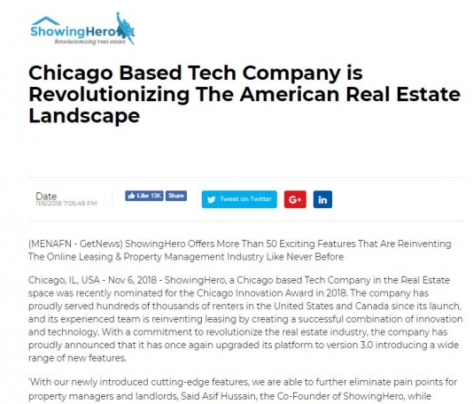 Chicago Based Tech Company is Revolutionizing The American Real Estate
